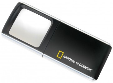 Lente ingrandimento con luce LED 3x National Geographic