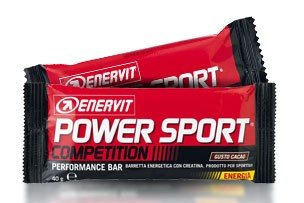 Enervit Barretta Power Sport Competition Cacao con creatina 40g