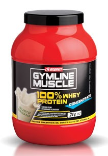 GymLine Muscle 100% Whey Protein Concentrate gusto Banana 700g
