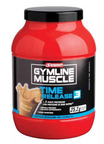 GymLine Muscle Time Release 3 Cookie 750g
