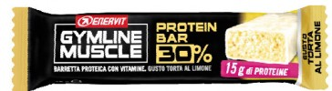 GymLine Muscle Protein Bar 30% gusto Torta al Limone