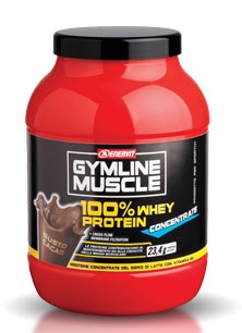 Gym Line Muscle 100% Whey Protein Concentrate gusto Cacao