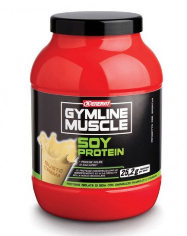 GymLine Muscle Soy Protein gusto Crema 800g