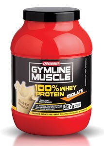 GymLine Muscle 100% Whey Protein Isolate gusto Vaniglia 700g