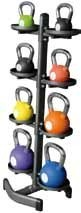 High Power Espositore kettlebell/palle mediche