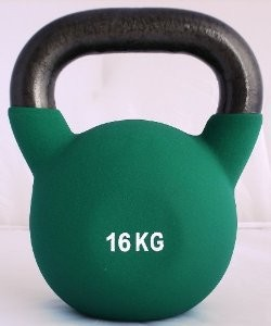 High Power Kettlebell in vinile 16 kg