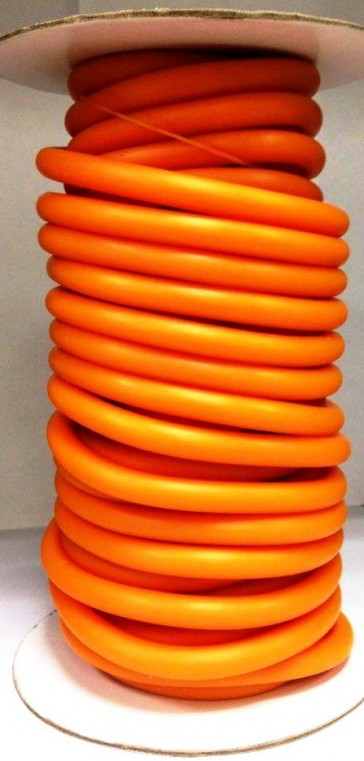 Xenios Bobina Elastic Tube in TPR arancione Medium - 15 mt