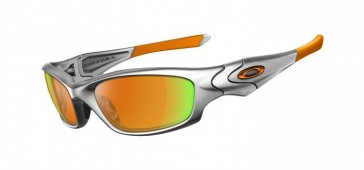 Occhiali da sole Oakley Straight Jacket Silver - Lens Fire Iridium