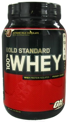 OPT 100% Whey Protein Gold Standard Proteine Banana 908g