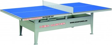Ping Pong High Muster Outdoor 667 Blu