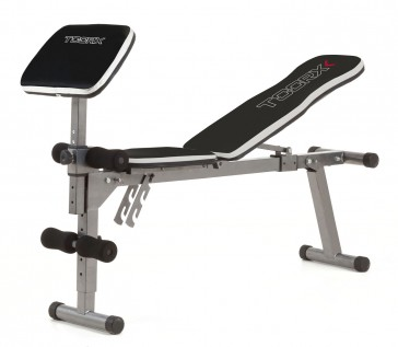 Panca piana Toorx WBX-30 con arm curl