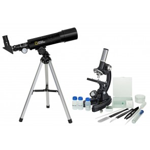 Set Telescopio + Microscopio National Geographic