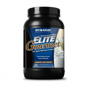 Dymatize Elite Gourmet Protein 900g gusto Cookies and Cream