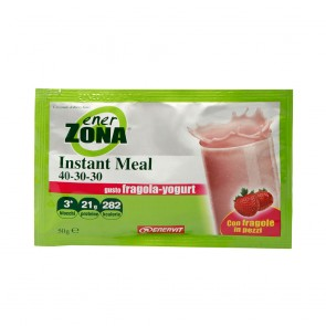 Ener Zona Instant Meal 40-30-30 Fragola Yogurt