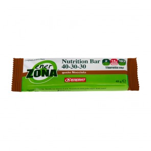 Ener Zona Nutrition Bar 2 blocchi Nocciola