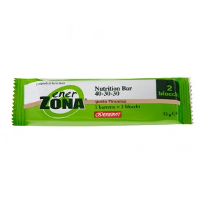 Ener Zona Nutrition Bar 2 blocchi Tiramisù