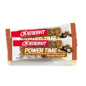 Enervit Barretta Power Time Nocciola-Cioccolato