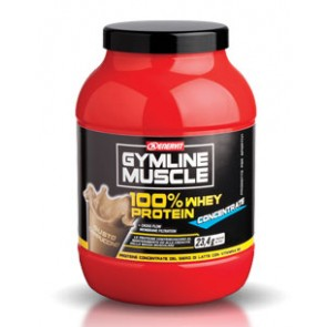 GymLine Muscle 100% Whey Protein Concentrate gusto Cappuccino 700g