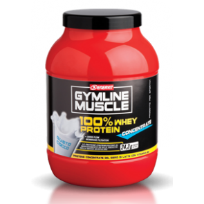 GymLine Muscle 100% Whey Protein Concentrate gusto Cocco700g