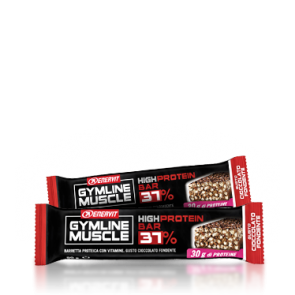 GymLine Muscle High Protein Bar 37% gusto Cioccolato Fondente