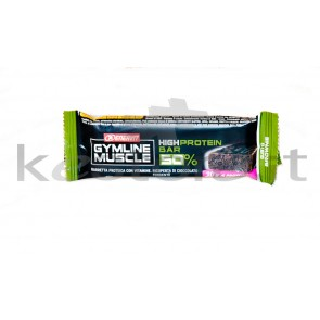 GymLine Muscle High Protein Bar 50% gusto Brownie