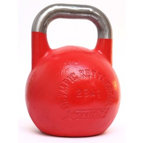 Kettlebell Xenios Olympic acciaio rosso - 28 kg