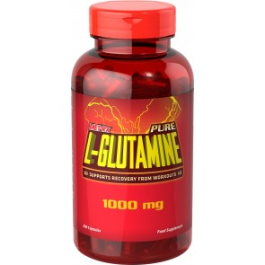 Met-Rx Pure L-Glutamine 200caps da 1000 mg