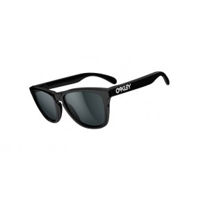 Occhiali da sole Oakley Frogskins Polished Black w/Grey