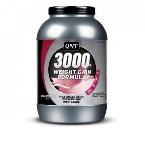 Weight Gain 3000 QNT gusto fragola 1300g